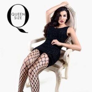 Killer Legs Queen size Fishnet Pantyhose